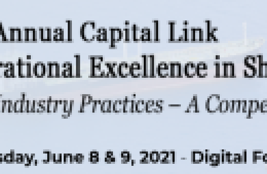 11th  Annual Capital Link Operational Excellence in Shipping Forum – Digital Forum