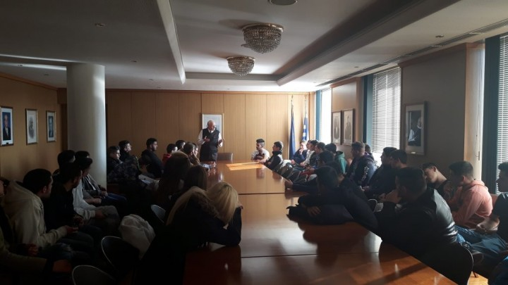 Επίσκεψη Μαθητών Από Το 2ο ΕΠΑΛ Ν. Ιωνίας Mαγνησίας Στο ΝΕΕ